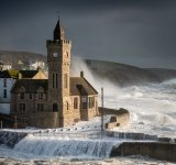 Gold - Stormy seas at Porthleven Andy Watkins