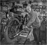 HC Games & Pastimes - Bill Watson, Motorbike Enthusiast Brian Galbraith