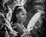 HC Mono Print - Carnival girl John Wade
