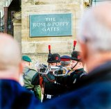 Joint 3rd Rembrance - The Last Post Penry Archer