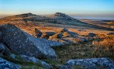 Silver - Dawn on Rough Tor Penry Archer
