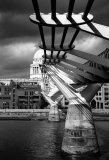 Silver - Millenium Bridge Sally Wade