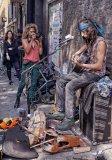 Street Musician and Assistant John Evans-Jones