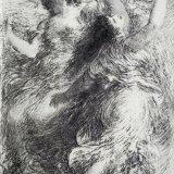 Henri Fantin-Latour, L'Or du Rhin (lithograph)