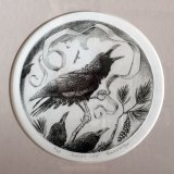 'Raven's Call' Drypoint