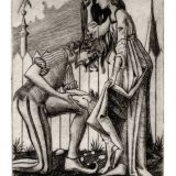 'The Sacred and the Profane' Drypoint