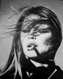 brigitte bardot 61 x 76 cm stretched canvas