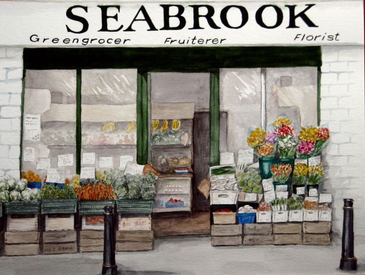 Seabrook's greengrocer, Rushden