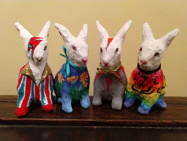 Easter, bunnies, craft