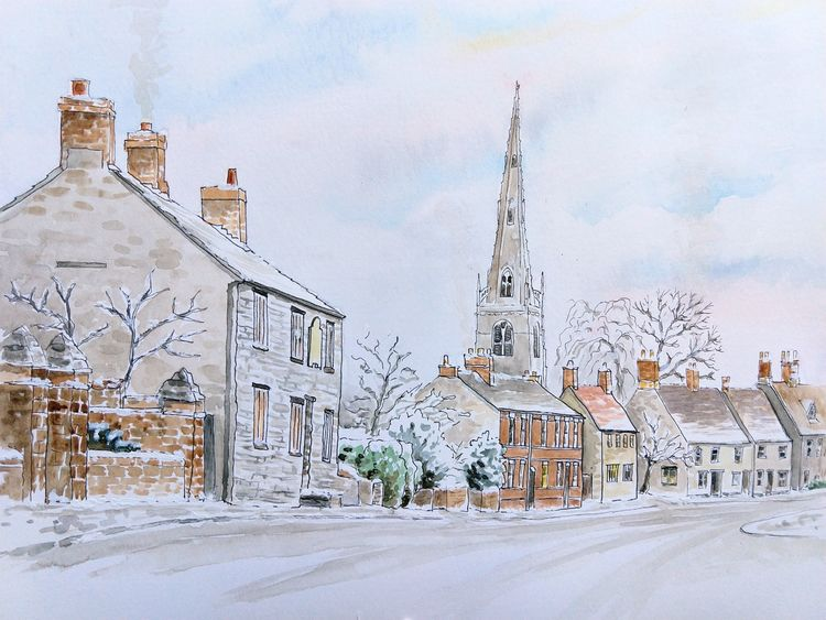 First Snow - Higham Ferrers