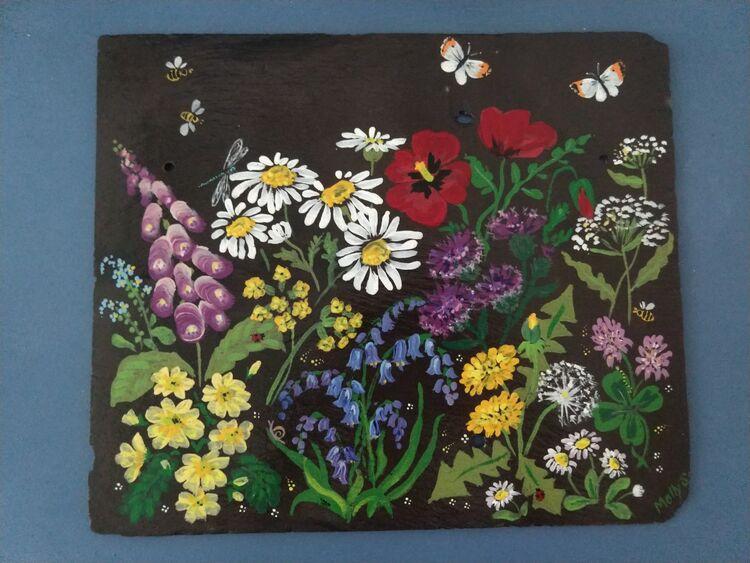 Wild flower slate