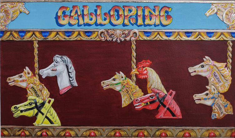 Galloping On