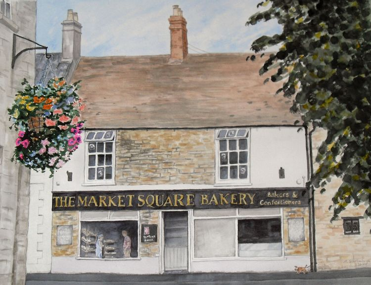 The Market Square bakery, Higham Ferrers
