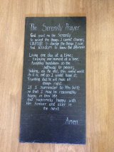 Commission - The Serenity Prayer