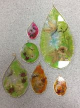 A selection of sun catchers