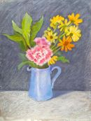 Blue Jug Flowers