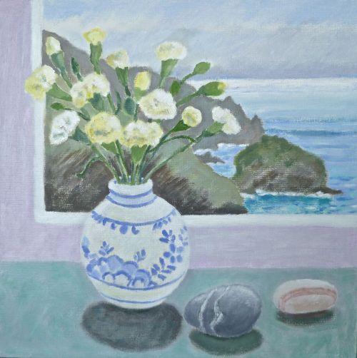 Carnations in a Dutch Vase