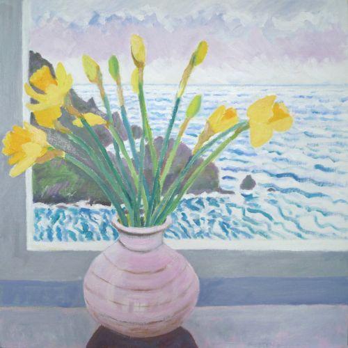 Daffodils in the Studio