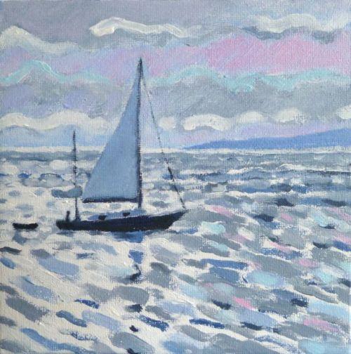 Evening Sail Mount's Bay