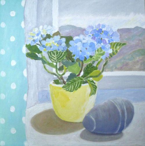 Little Blue Hydrangea