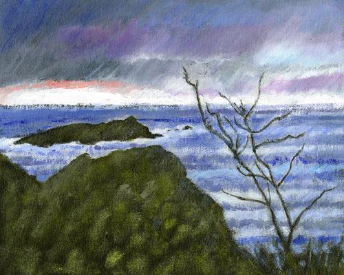 Mullion Island, Winter