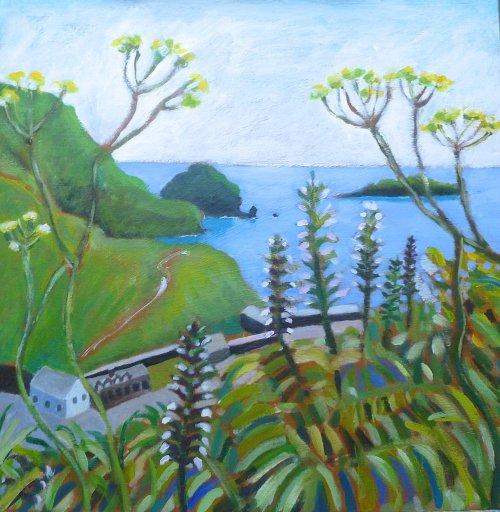 Mullion Cove Late Summer