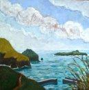 Mullion Cove big clouds