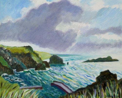 Mullion Cove dark cloud