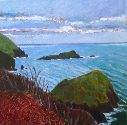 Mullion Island Green Sea