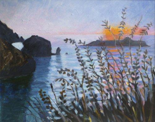 Sunset Mullion Cove