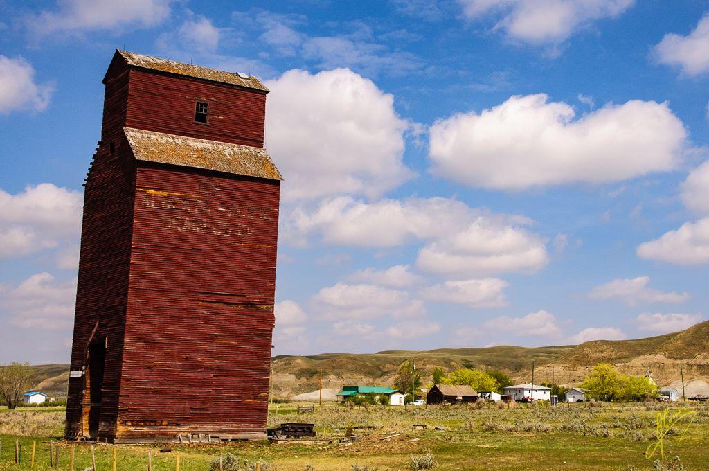 Grain Elevator, Alberta.