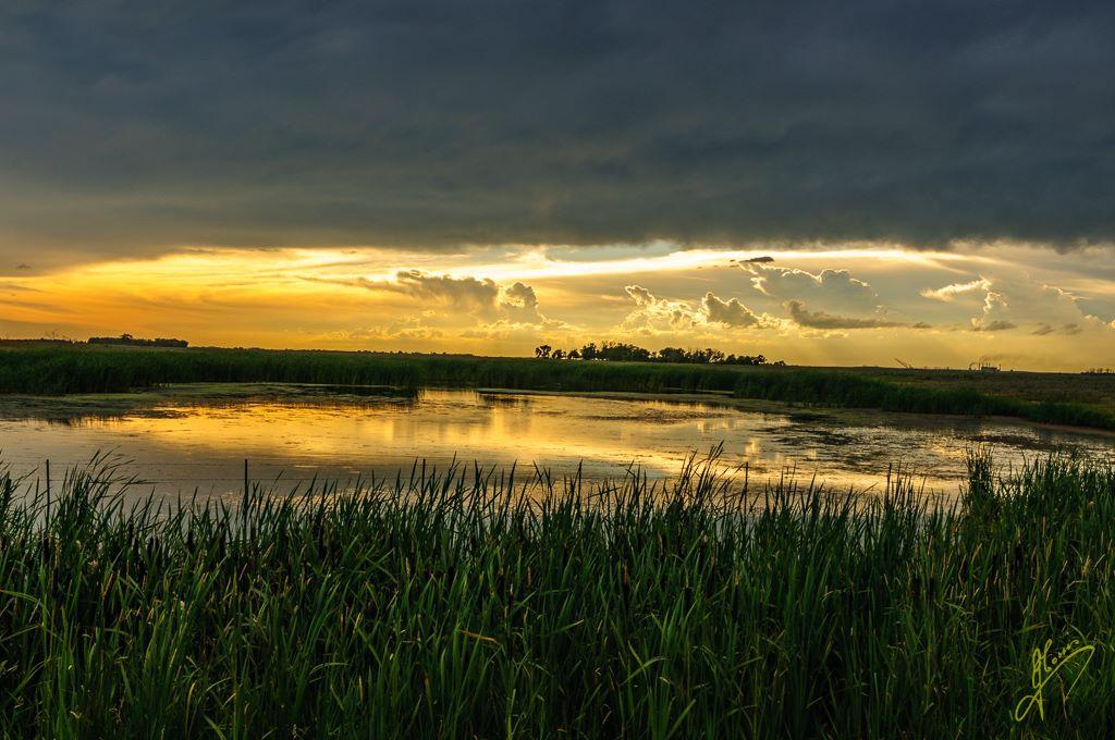 Cloud as an Accessory near Estevan, Saskatchewan.