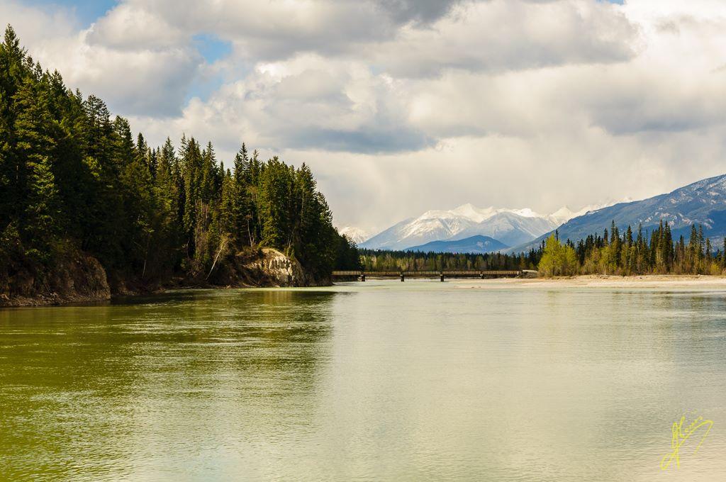 Columbia River, Golden, British Columbia.