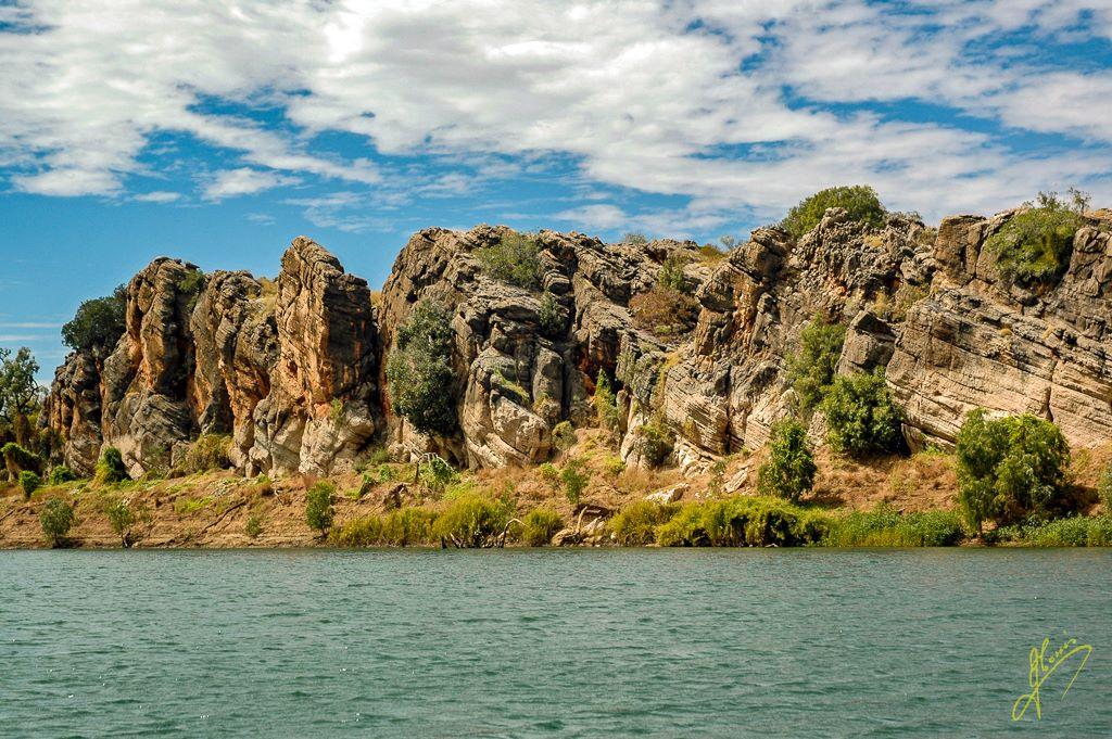 Geikie Gorge National Park, Western Australia.