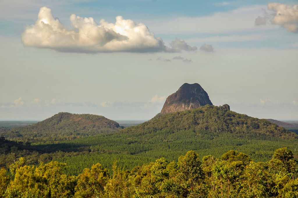 Glass House Mountains, Queensland.