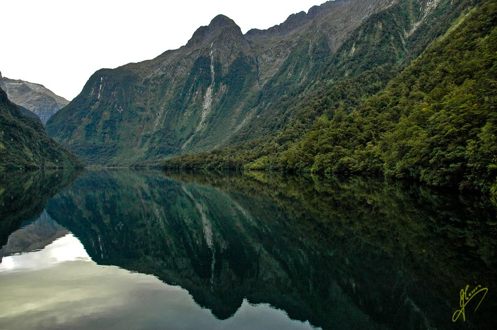Hall Arm Reflection, Doubtful Sound, Fiordland.