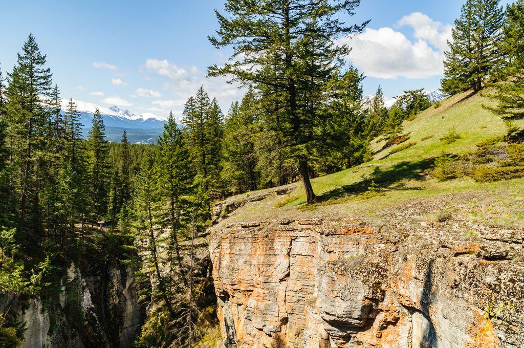 Maligne Canyon, Jasper National Park, Alberta.