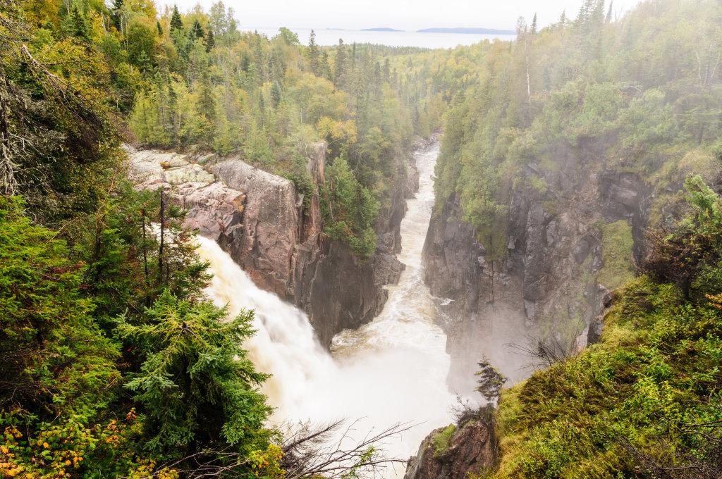 Aquasabon Falls, Ontario