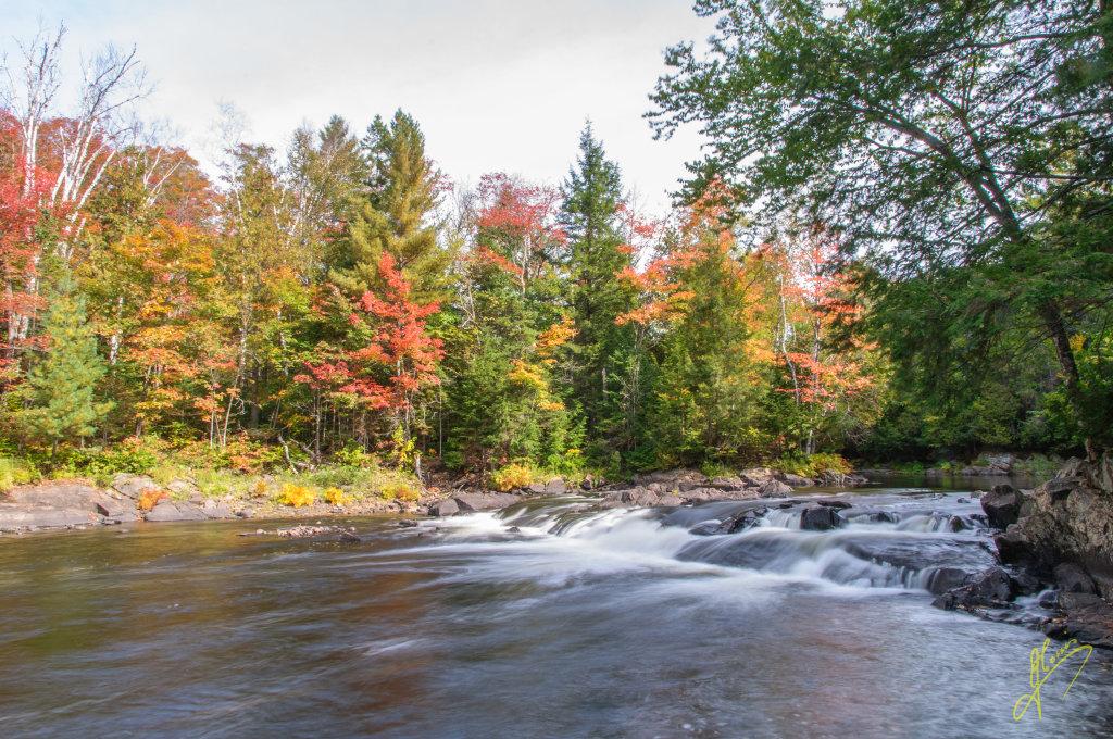 Ragged Fall, Ontario.