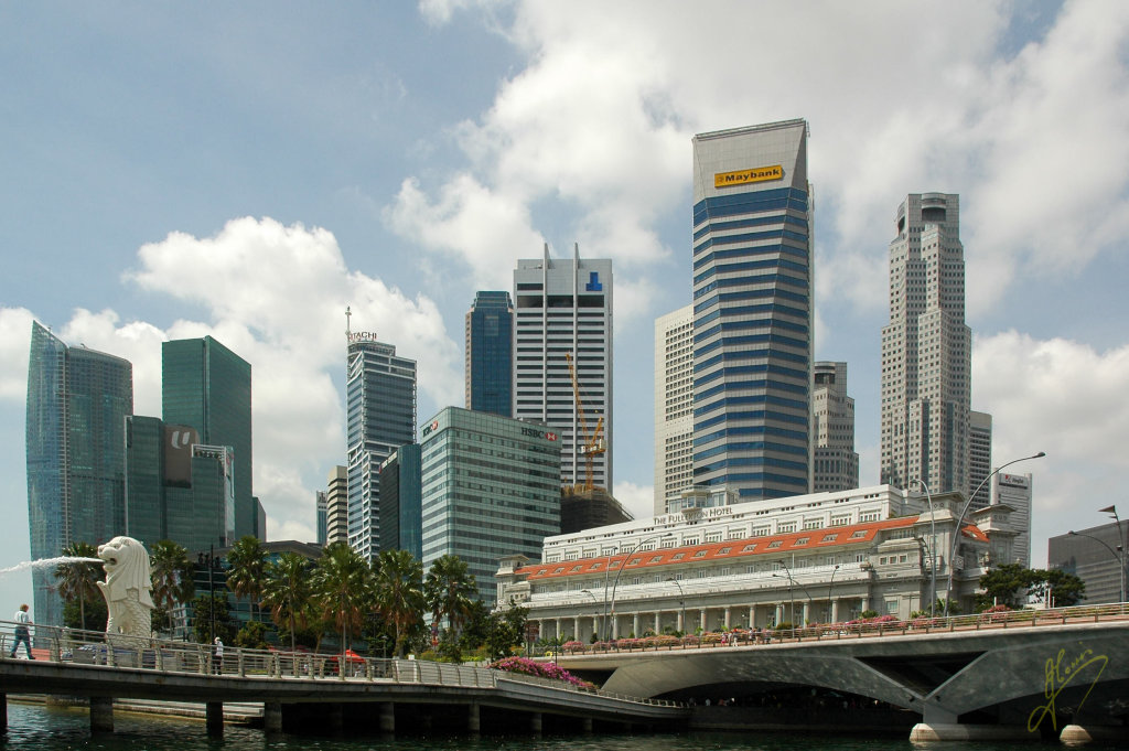 Singapore River.