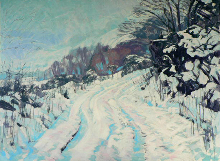 Snowed In, the Esk Valley