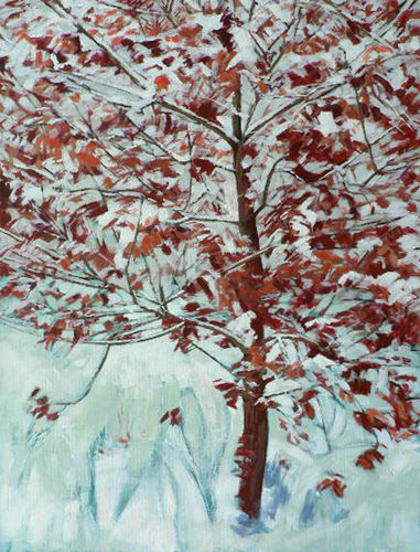 Winter Hazel. Acrylic