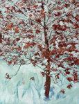 Winter Hazel. Acrylic