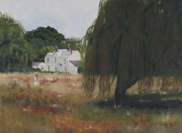 View across Totteridge Common (SOLD)