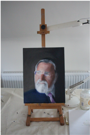 Rabbi Lord Jonathan Sacks (IN PRIVATE COLLECTION)