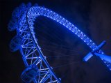 1st Anthony Le Conte Wheels The London Eye at night