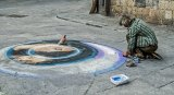 2nd Jo Mahy Street Photography Street painter