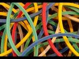 Dave Le P Close Up Rubber Bands