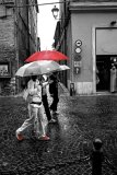 Jo Mahy Predominant Colour Red brolly