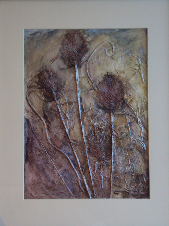 Autumn Teasels Sold